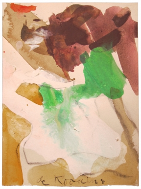 Willem DeKooning - Untitled ( Woman)