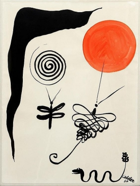 Alexander Calder - Narning Needles and Rattler