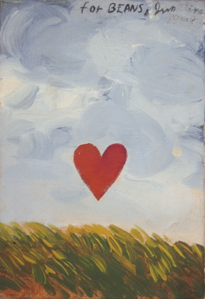 Jim Dine - Heart in a Landscape