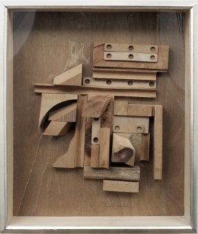 Louise  Nevelson - Series of Unknown Cosmos XXXIX