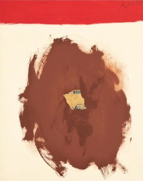 Robert Motherwell - Sea Lion with Red Stripe