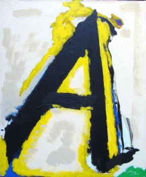 Robert  Motherwell - Little A