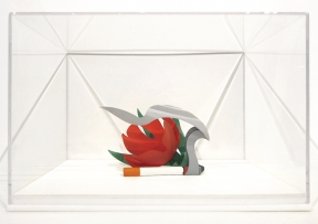 Tom Wesselmann - Maquette for Tulip and Smoking Cigarette, 1983