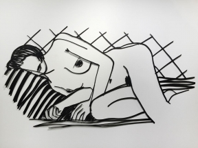 Tom  Wesselmann - Monica Asleep on Blanket